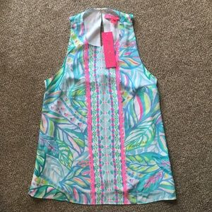 NWT Lilly Pulitzer Lyle Top